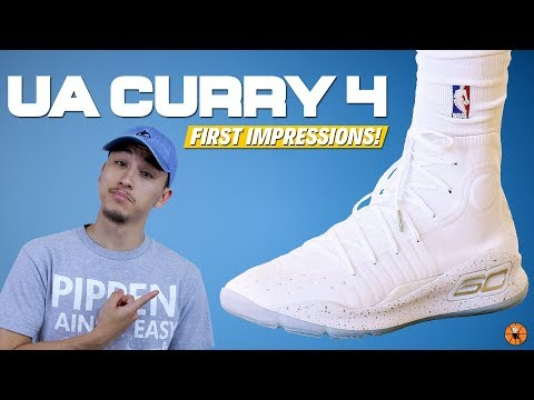 Under Armour Curry 4 First Impressions! | 2017 NBA Finals