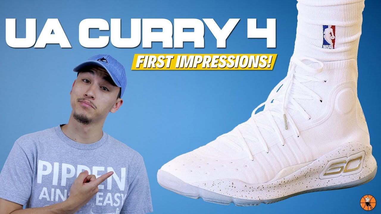 f26a08753aea Under Armour Curry 4 First Impressions!