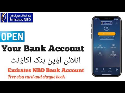 Emirates NBD Instant Account | Online Banking | Free visa card