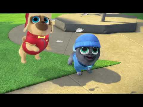 Puppy Dog Pals : Art for Pug's Sake & Winter Wonderpug - Disney Junior show