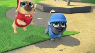 Puppy Dog Pals : Art for Pug's Sake & Winter Wonderpug - Disney Junior show
