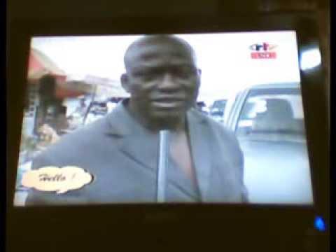 NDEH EDMOND ON CRTV. INTRODUCING PARKING METERS IN BAMENDA