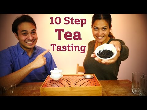 Ten Step Tea Tasting