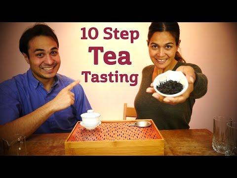 10 Step Tea Tasting |How to Taste Tea Like a Pro