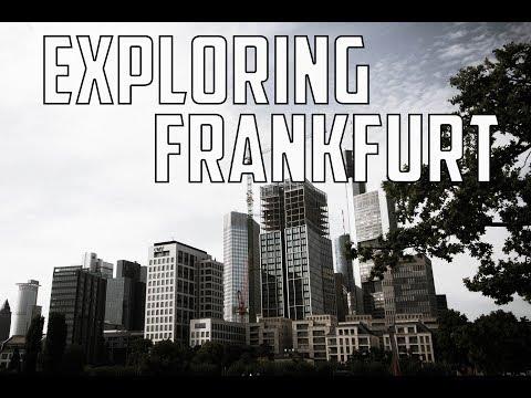 Traveling around Frankfurt || Germany Travel Vlog