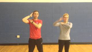 Macarena Dance Lesson