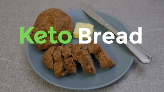 Keto Bread. How to make Keto bread rolls.
