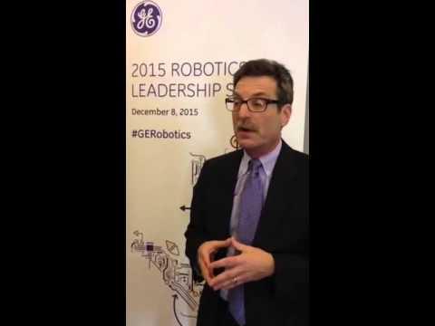 Jeff Burnstein speaks at GE Global Research's 2015 Robotics Leadership Summit