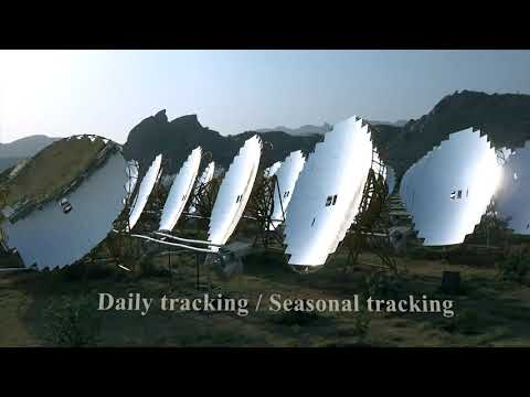 India's first utility scale solar thermal power plant with storage