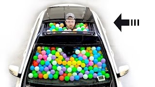 How Many Balls In This Mercedes Benz?