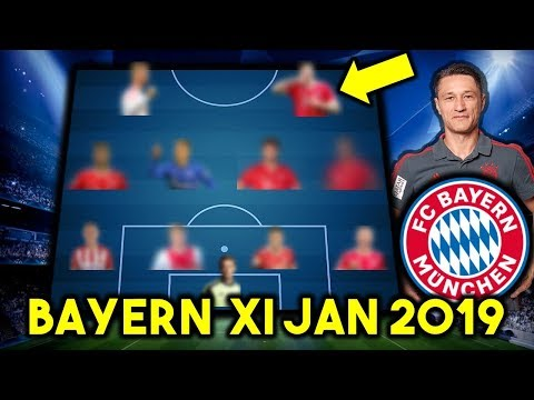 Bayern Munchen Possible Line Up XI January 2019 Ft Werner, Hernandez & Other Transfers...