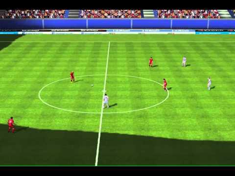 Crazy half pitch goal by Alex from Brazil