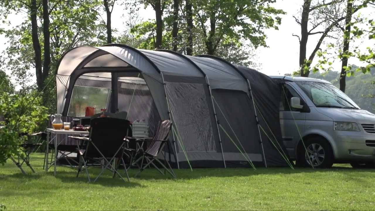 & Outwell Touring tent - YouTube
