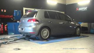 VW Golf 6 tdi 110cv Reprogrammation Moteur @ 179cv Digiservices Paris 77 Dyno