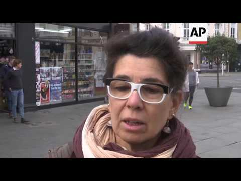 Reactions in London to French election result