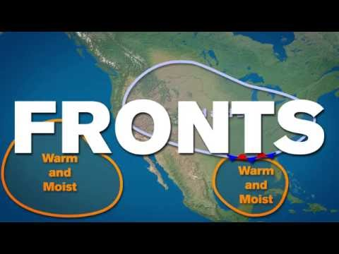 Weather Information Part 2 - Air Masses and Fronts