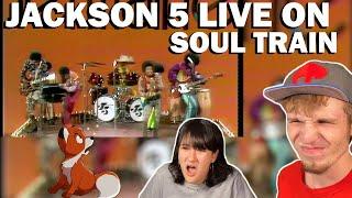 JACKSON 5 LIVE ON SOUL TRAIN 1972 (COUPLE REACTION!) [I WANT YOU BACK, CORNER OF THE SKY + MORE]