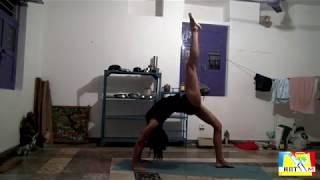 Урок Йоги в Индии. Комплекс 2. Расширенный. Упражнения от члена команды НПТМ Майи.