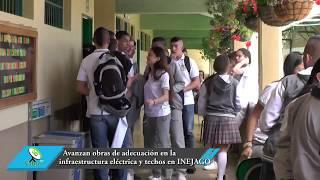 Avanzan las obras de adecuación en la infraestructura eléctrica y techos en INEJAGO