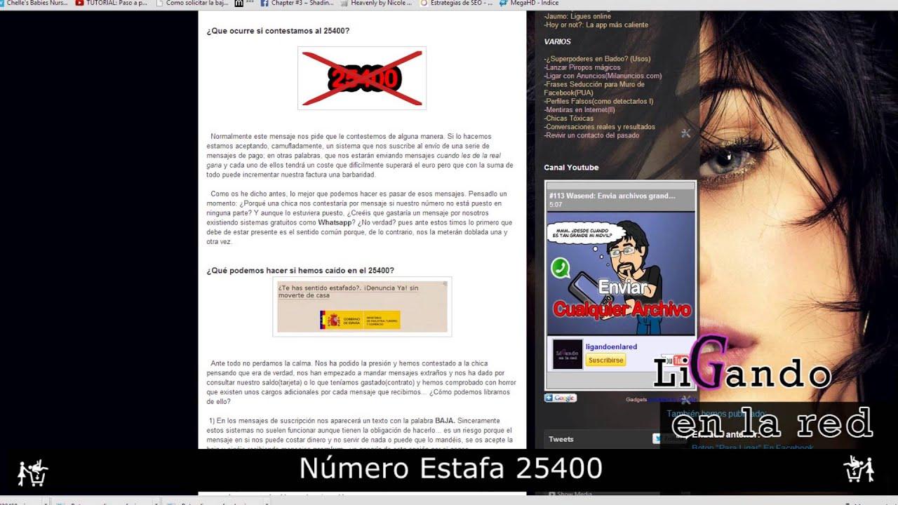115 Numero Estafa 25400 Youtube