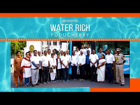 Water Rich Puducherry - A Compilation