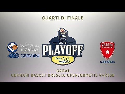 Brescia-Varese, gli highlights di Gara 1