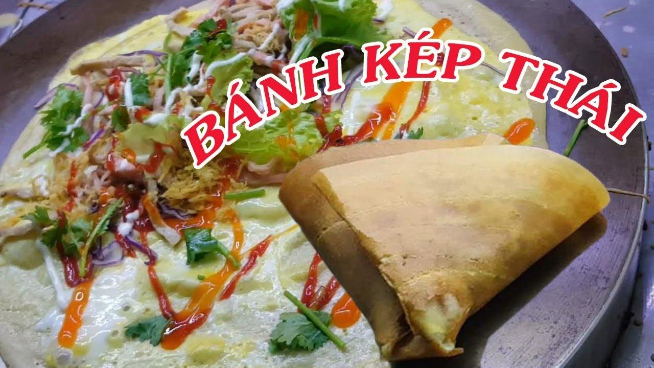 Cách làm Bánh crepe Thái Lan - tphcm - Ăn là ghiền | Món Ăn Thái Lan | Mai Râng TV