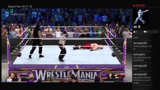 WWE 2K15: WWE Title Match- Brock Lesnar Vs Roman Reigns