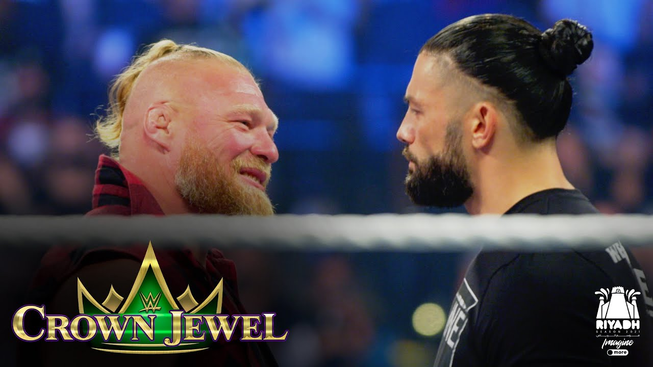 Download Reigns and Lesnar set for Crown Jewel collision: WWE Crown Jewel 2021 (WWE Network Exclusive)