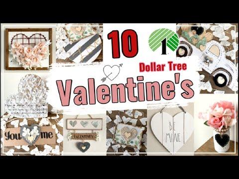 10 Dollar Tree DIY Valentines Home Decor Ideas \ Easy Dollar Tree DIYs \ Momma From Scratch