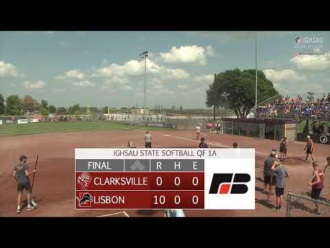 2021 IGHSAU State Softball 1A Quarterfinal: Lisbon vs Clarksville