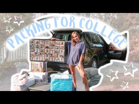 Pack With Me For College 2019 (New York University *freshman*)