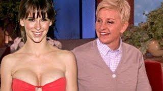 Repeat youtube video Jennifer Love-Hewitt On Boob Tube: Ellen Show