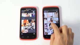 Clone of Lenovo S820 Smartphone MTK6572 Dual Core 1.3GHz CPU Memory 512MB/4GB