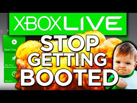 HOW TO STOP GETTING BOOTED OFF XBOX LIVE (TUTORIAL) XBOX!::