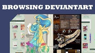 Browsing Deviantart/Oc Reviews: Strange Designs and More Video