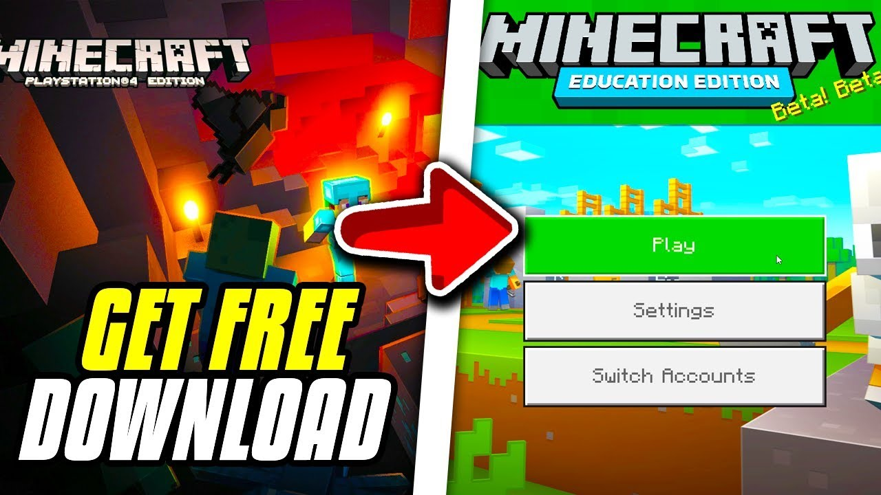How To Get Minecraft PS12 Bedrock Edition For Free!
