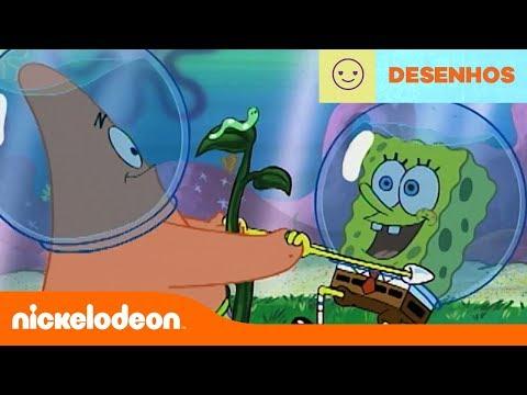 Bob Esponja | Golden Moments: Lagartinha, a nova melhor amiga | Brasil | Nickelodeon em Português