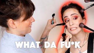 Woah🔥 Makeup Artist schminkt mich 🤩 Makeup Artist does my Makeup 😳Hatice Schmidt