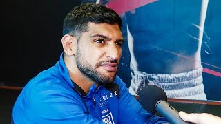 Amir Khan SHOCKED BY Dib slur: It's got NOTHING TO DO WITH MONEY!