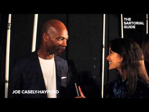 London Collections: Men SS16 - Joe Casely-Hayford Interview