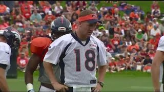 Patriots fans sharing words of respect for Peyton Manning