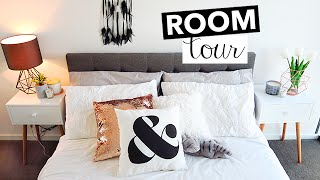 ROOM TOUR 2016! - Bedroom Tour with Minimalism Decor