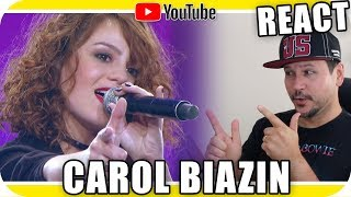 Baixar CAROL BIAZIN Revelação do Ano - Marcio Guerra Reagindo React Reação Pop Rock Dance #YoutubeTalent