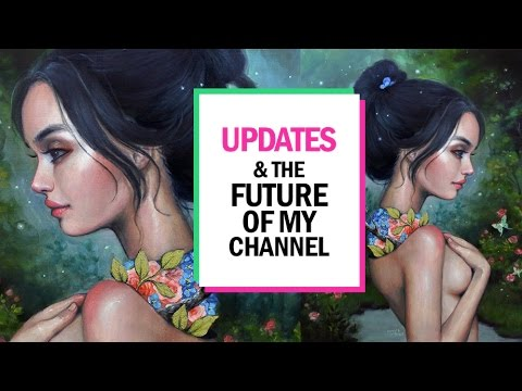 UPDATES & THE FUTURE OF MY CHANNEL 🎨 Studio Sessions Ep 6