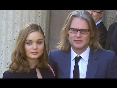 Bella HEATHCOTE & husband Andrew Dominik @ Paris  MIU MIU Fashion Week 5 march 2014