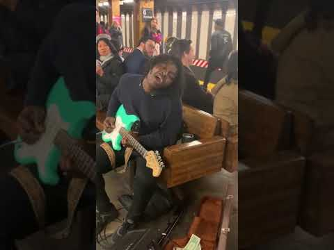 Andy Woods - NY Subway Performer KILLS It!