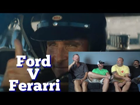 Ford v Ferrari Official Trailer (Trailer Reaction)