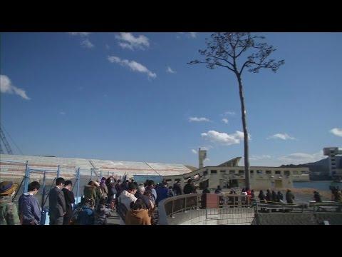 Japón conmemoró con un minuto de silencio el sismo y el tsunami  de 2011
