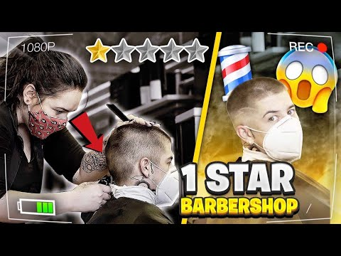 BEST BARBER IN THE WORLD GOES TO THE WORST BARBERSHOP! 💈 One Star Barbershop Review 😱 VicBlends